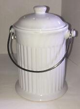 Kitchen Composter Organic Recycling Bin Bucket Countertop Storage Keeper Crock