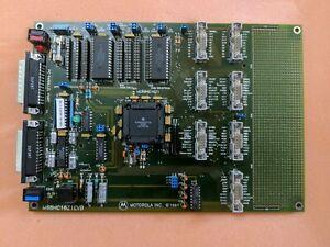 Vintage Motorola M68HC16Z1EVB with documentation & software - Mint condition