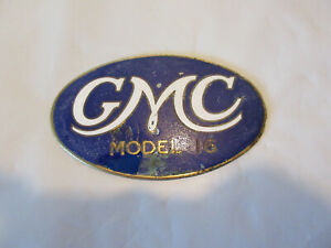 GMC Model 16 Radiator Emblem