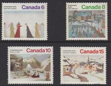 CANADA 1974 CHRISTMAS Issue #650-653 (set of 4) - MNH