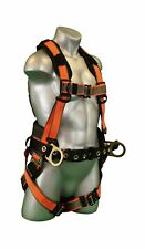 Warthog Comfort MAXX Construction Harness with Removable Belt, Side D-Rings a...