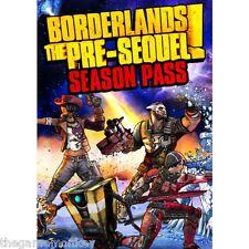 Borderlands The Pre-Sequel pase de temporada para PC (Tecla de vapor solamente)