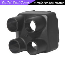 1X Plastic Car Vehicle Four Holes Outlet Cover For 5kw Air Diesel Parking Heater