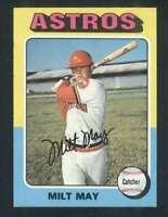 1975 Topps #279 Milt May EX/EX+ Astros 67713