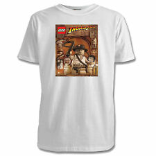 Lego Indiana Jones Childrens T-Shirts - 4 Designs / 4 Colours / Sizes 1-11 Yrs