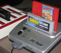 Retro Nintendo NES / SNES Twin Console – Plays NES & Super NES Cartridges