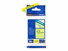 Brother TZe-C31 Black on fluorescent yellow Roll (1.2 cm x 5 m) 1 roll(s) TZEC31