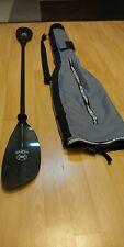 Werner Cypress Carbon Kayak Paddle with Danuu Deluxe Paddle Bag