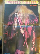 poster TWISTED SISTER - like WASP Dee Snider Widowmaker Lordi Kiss