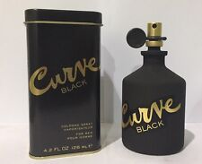 Curve Black By Liz Claiborne 4.2 Oz Cologne Spray Brand New In Can For Men