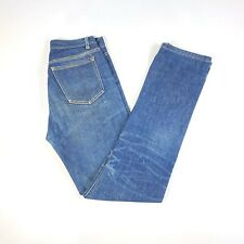 APC RUE DE FLUERUS PARIS MENS BLUE DISTRESSED DENIM SLIM STRAIGHT JEANS 28W 34L