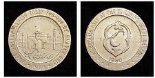 Vintage 1980 EL CASINO, GRAND BAHAMAS Gaming Token~Casino Chip Half Dollar metal