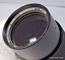 Vivitar  70-210mm f4.5 FD mount for Canon AE-s lens (Sold Separately)