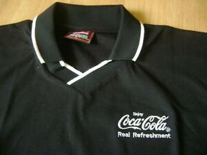 COCA-COLA Polo T-shirt - Size M - NEW