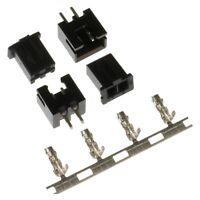 2-pin COLOURFUL XH 2.5mm Connectors (JST XH Style) - Plug Housing, Header Crimps