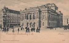 Post Card - Liberec / Reichenberg - Theater