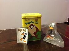 Russell Stover Surprise Tin! Looney Tunes! Taz with Daffy Figure