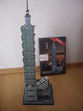 3D Puzzle Taipei 101 Taiwan Tower Turm Höhe 59cm! Gebäude Wolkenkratzer Hochhaus