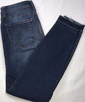 STS Blue Jeans Emma Ankle Skinny Size 24 Distressed & Destroyed