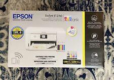 NEW Epson EcoTank ET-2760 Wireless Color All-in-One Supertank Printer BONUS INK!