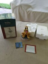 "Jim Shore ""Loyal Pluto"" Disney traditions #4009256 Rare figurine"