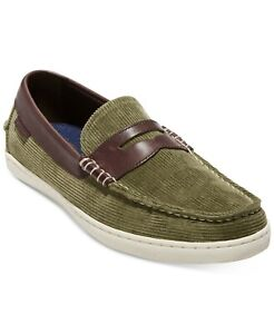 Cole Haan Pinch Weekender Green Mens Size 9M Loafers & Slip Ons Olive Shoes