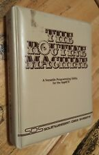 Routine Machine by Southwestern Data Systems (SDS) for Apple II+,IIe,c,IIgs 1982