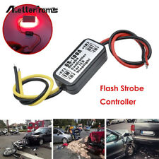 GS-100A Flash Strobe Controller Box Flasher Module Car LED Brake Stop Light Lamp