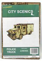 TTCombat DCS005 Police Truck (City Streets) SWAT Van Vehicle Scenery Terrain Kit