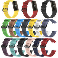 NE_ CW_ Silicone Wristband Strap Smartwatch Bracelet Watch Band for Fitbit Charg