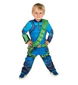 Thunderbirds are GO! Children's Costume Fancy Dress Virgil Tracy 9-10