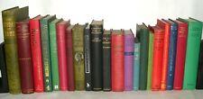 21 Various Coloured Hardback Books - Wedding Decor, Resale Collection, Resale