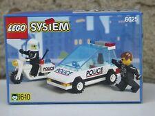 Lego 6625 - Police voiture moto neuf boite scellée 1996