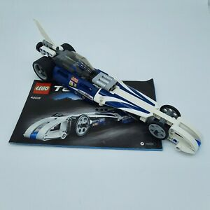 Lego Technic 42033 Pullback Dragster Record Breaker With Manual