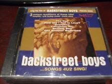 Pocket Songs Karaoke Disc Pscdg 6009 Backstreet Boys Cd+G Multiplex