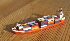 1/1250 Kröger Containerschiff KWC 360 UTE JOHANNA 1995 ZEYA Bille 134a gesupert