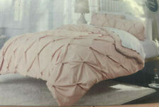 Threshold 3 Piece Comforter Set with Two Shams in Pink Metal Choose Your Size