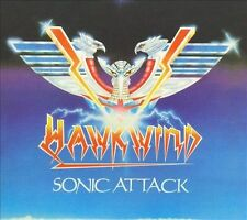 Hawkwind - Sonic Attack (CD, Feb-2010, 2 Discs, Atomhenge)