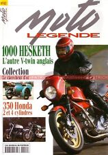 MOTO LEGENDE  42 HONDA CB 350 K3 Four HESKETH V1000 PUCH 500 BMW R50 R 50 BASTER