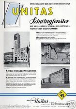 Finestra Unitas Feuerbach XL insegne 1956 schwingfenster Stoccarda baubeschlag ad