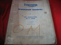 TRIUMPH 650 TWIN 6T THUNDERBIRD TR6 TROPHY T120 BONNEVILLE SERVICE REPAIR MANUAL