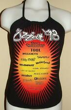 Tool Ozzy Osbourne Megadeth Incubus Concert Festival Shirt Halter Top DiY