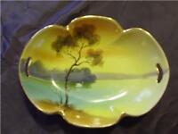 Vintage Handpainted Noritake Dish Decorative