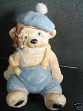 1991 Dreamsicles Kristin Bear In Blue Jump Suit & Hat