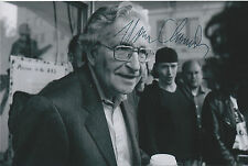 Noam Chomsky Signed 4x6 Photo Campaign for Peace and Democracy Anarachism