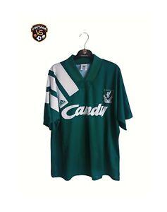 Vintage Original Liverpool Football Away Shirt 1991-1992 (L) Adidas Candy Jersey