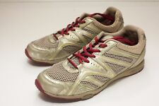 ECCO 7 to 7.5 Gold Lace Up Sneakers Women's EU 38 - Missing Insoles