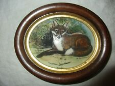 Earl Sherwan The Red Fox Limited Edition Ivory Engraving, Handcrafted, Signed