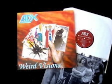 ADX/WEIRD VISIONS/RARE FRENCH HARD ROCK/NOISE INTERNATIONAL/GERMAN PRESS 1990