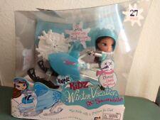 Girlz Girl Bratz Kidz Kid Winter Vacation Dana Doll & RC Snowmobile Very Rare